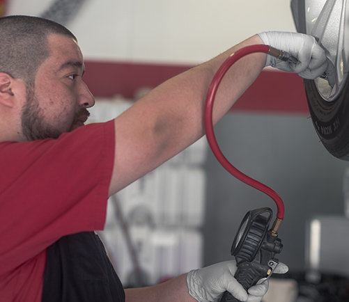 Tire Shop in Gaylord: Certified Tire Repair Services | Auto-Lab - content-tire-filling